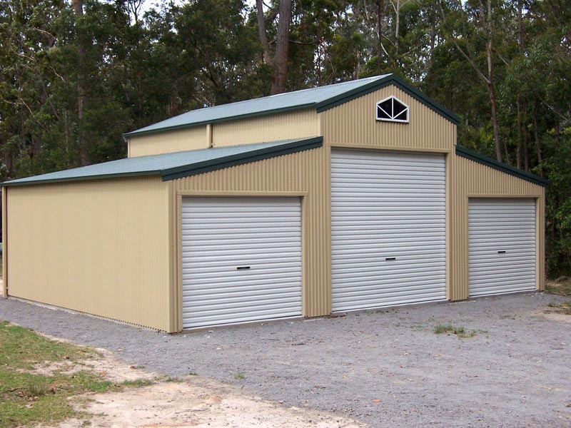 American Barn by Fair Dinkum Sheds and Judds Garages