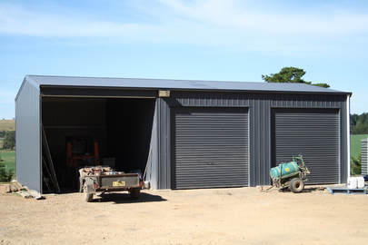 Farm Shed in the Lake Macquarie area of NSW from Judds Garages