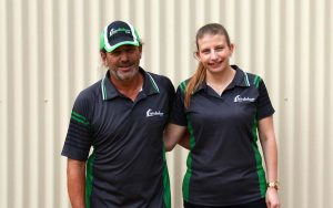 Michael and Melysa Judd own and operate Judds Garages in Edgeworth, near Newcastle NSW