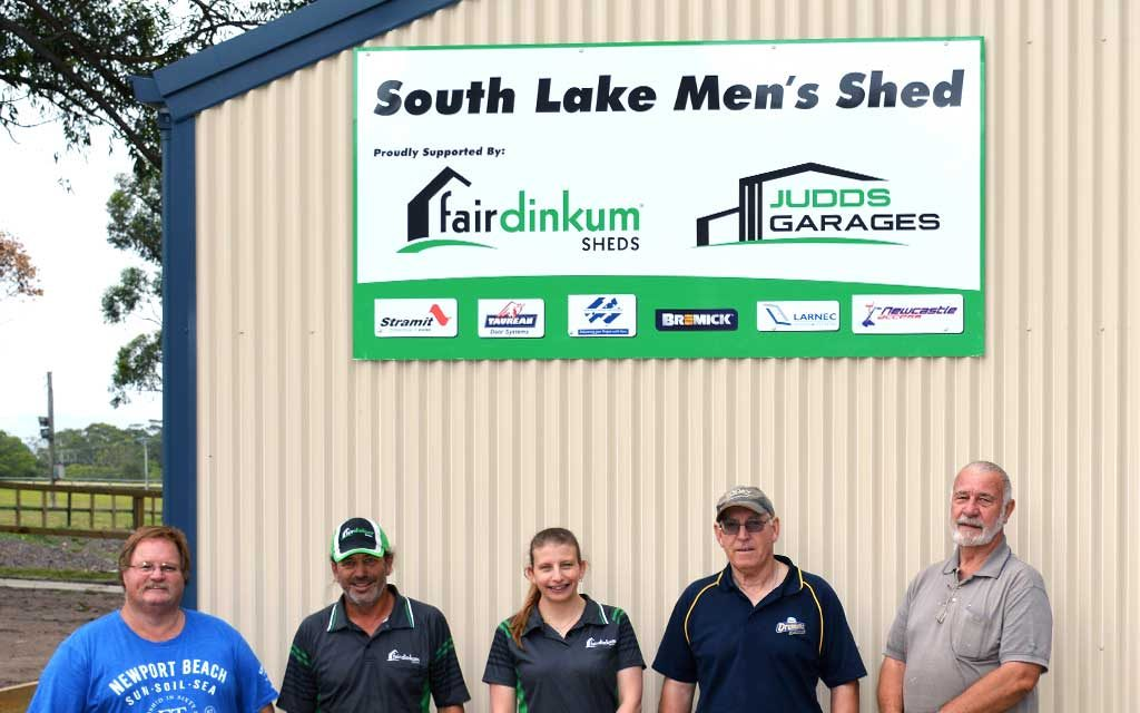 Judds Garages built the Southlakes Men's Shed