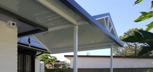 Combination awning by Judds Garages in the Greater Newcastle region