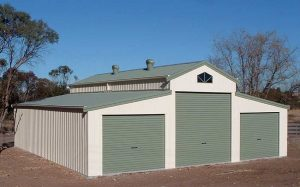 Large sheds and barns built by Judds Garages