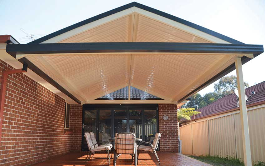 Gable awning by SOL Home Improvements