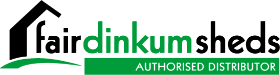 Fair Dinkum Sheds Authorised Distributor