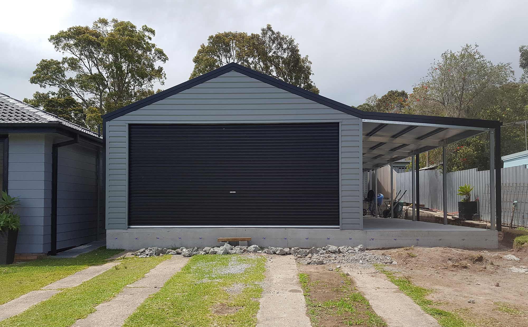 Large Modern Barn Door