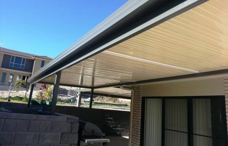 SOL awning in Cameron Park by Judds Garages