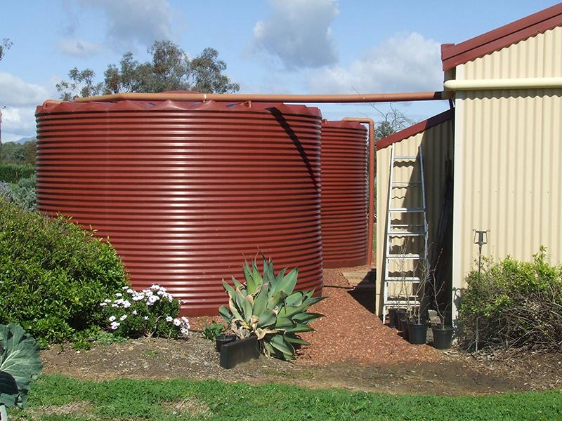 Rapid Plas large rainwater tank 22,500 litres